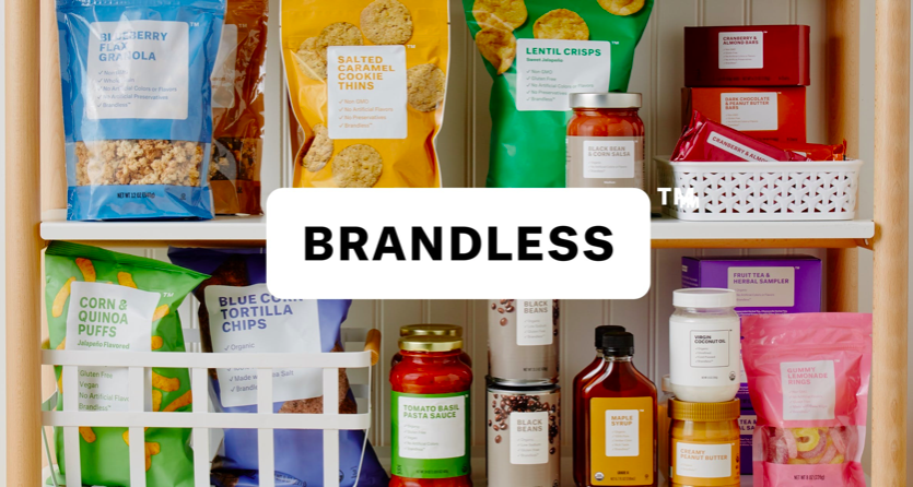 Brandless Shervin Pishevar Investment